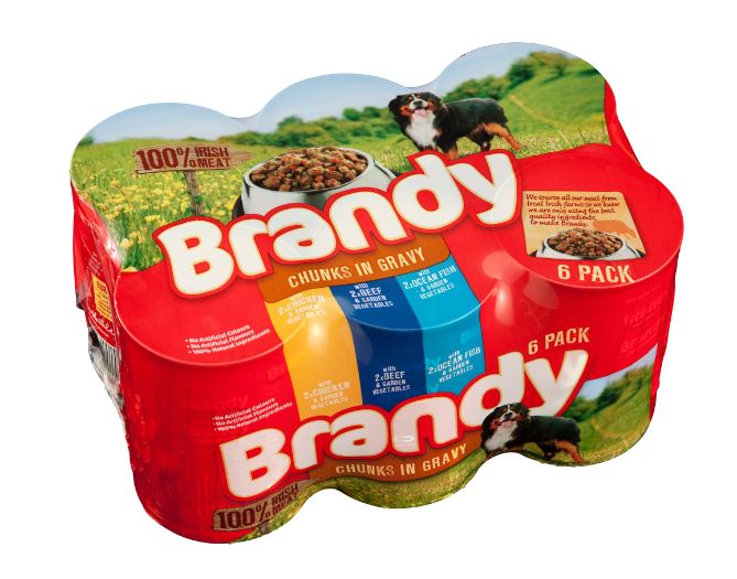 Brandy Variety 6pk Chunks In Gravy