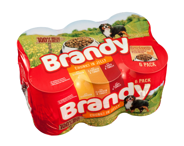 Brandy Variety 6pk Chunks In Jelly