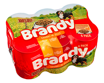 Brandy Chunks In Jelly 6 Pack