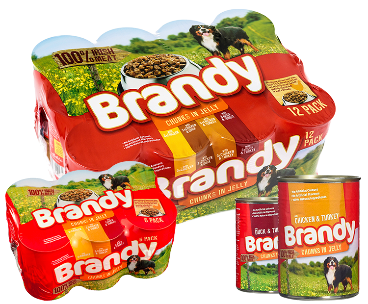 Brandy Chunks in Jelly Products