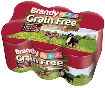 Brandy Grain Free 6 Pack