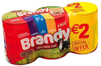 Brandy Traditional Loaf - 3 Pack Promotional