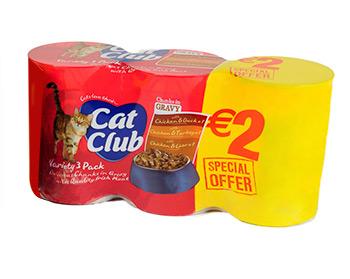 Cat Club Chunks in Gravy