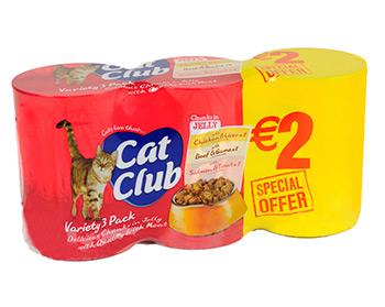 Cat Club Chunks in Jelly
