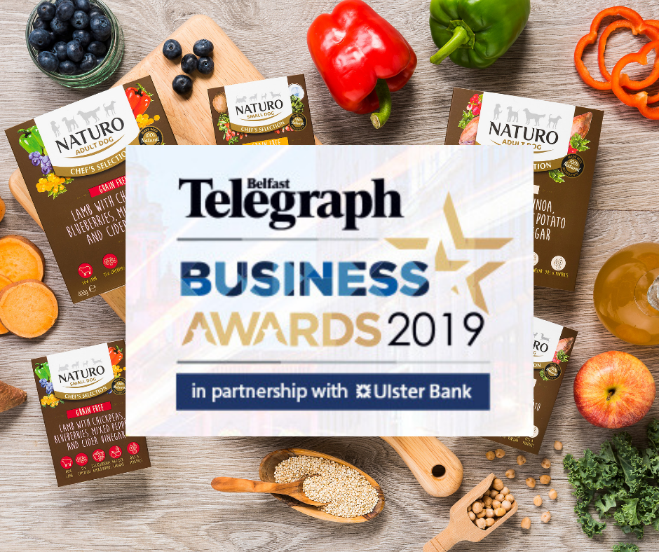 Belfast Telegraph Business Awards Shortlist Reveals Two Award Nominations for Mackle Petfoods!